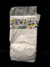 Vintage Super Greenfield Generic Brand Plastic Backed Baby Diaper Size Large