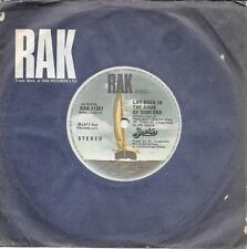 """SMOKIE - LAY BACK IN THE ARMS OF SOMEONE - 7"""" 45 VINYL RECORD - 1977"""