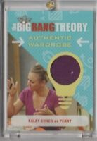 The Big Bang Theory Season 6 & 7 Wardrobe Trading Card Kaley Cuoco as Penny #M19
