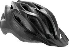 MET Fahrrad Helm Crossover LED Schwarz matt 52-59 UVP: 59,99 EUR für Stevens KTM