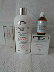 Pr Francoise Bedon Carotte Lightening Body Lotion 500m * New & Original *