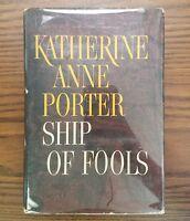 Ship of Fools Katherine Anne Porter True First Edition 1st Printing HC/DJ