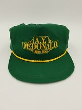 A.Y McDonald Est 1856 Snapback Hat Cap K Products(Made in Usa)