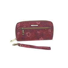 Travelon Safe ID Wallet RFID Blocking Womens Clutch Card Holder Floral NWT