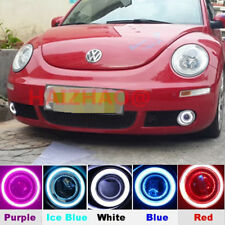For VW Beetle 2007-2010 LED DRL Daytime Fog Lights Turn signal +angel eye kit