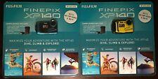 FUJIFILM FinePix XP140 Digital Camera blue/yellow7 Piece Bundle Brand New Sealed