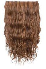 Extensions de cheveux bruns longs ondulés pour femme