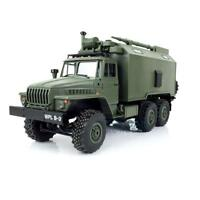 "US Stock 1/16 Unit ""URAL"" Military Truck NEW Henglong RC 2.4G Model Car RTR"
