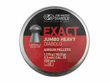 JSB EXACT JUMBO HEAVY.22 5,53 mm 5.53 mm PELLETS FT HFT EXACTS 1.175 g 250 pcs