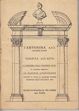 HN Antonina Roma vendita all'asta arredamento di un signorile appartamento 1972-
