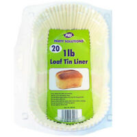 Loaf Tin Liner 1lb 20piece pack HK Trading NEW!!