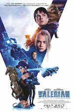 VALERIAN AND THE CITY OF A THOUSAND PLANETS MOVIE POSTER ORIG BUS SHELTER 48x70