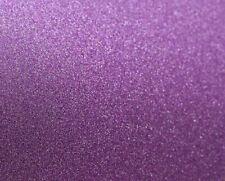 A4 Purple Glitter Card 180gsm, crafts arts