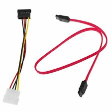 1 SATA Power Adapter Cable and 1 SATA Data Cable AD