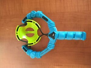 Wham-O Arctic Force Snowball Slingshot And Target Blue/Green Winter Fun preowned