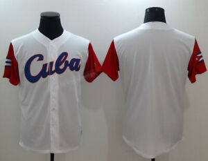 2017 Cuba Baseball Jerseys Stitched Custom Any Names Jose Abreu Alonso