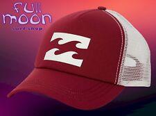 New Billabong Wave Logo Sangria Amp Womens Snapback Trucker Cap Hat