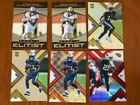 2017 Elite Titans 6 Card Rookie Lot Corey Davis Silver Prizm Holo RARE SP /71