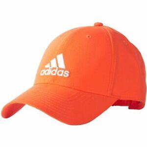 Adidas Mens Baseball Caps Adjustable Hat Sports Training Golf Cap Black White
