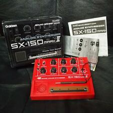 NEW Gakken SX-150 MARK II Analog Synthesizer F/S /w Tracking Number From Japan