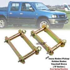"NEW Rear 2"" 50mm Lift Kit Greasable Shackle For Holden Rodeo TF TFR TFS 1988-02"