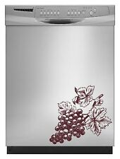 Wine Grape Decal Sticker for Dishwasher Refrigerator Washing Machine Stove Dorm