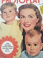 Vintage Collectible Photoplay Movie Magazine Jean Crain Cover May 1950