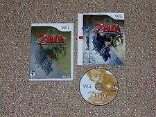 The Legend of Zelda: Twilight Princess Nintendo Wii Complete