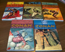 CONAN TPB 1, 2, 3, 4, 5 originali americani COME NUOVI Dark Horse R. E. Howard