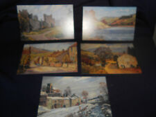 5 x THE POST OFFICE PICTURE POSTCARDS SERIES c1980 - MINT CONDITION  - THE DALES