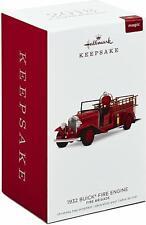 2018 Hallmark 1932 Buick Fire Engine Ornament with Light