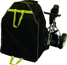 NEW ELECTRIC GOLF TROLLEY CARRY BAG COVER BLACK-Heavy Duty