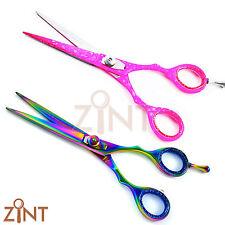 Set Of 2 Barber Hairdressing Scissors Men & Women Grooming Shears Hair Cutting