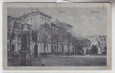 68626 Feldpost Ak Schrimm Markt um 1915