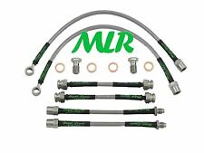 VW POLO GTI 6N 6N1 6N2 AEROQUIP BRAIDED BRAKE LINES HOSES PIPES 6 LINE KIT YD