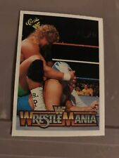 1990 Classic Wrestlemania WWF #89 Mr. Perfect Blue Blazer Card