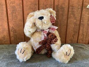 DAN DEE Collector's Choice 100th Anniversary teddy bear (holding a teddy bear)