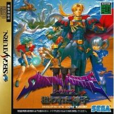 Sega Saturn SHINING FORCE III 3 Scenario 2 Video Game Japan Japanese