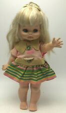 Vintage Horsman Dolls Teenie Bopper Hard Plastic Doll Tot Blonde