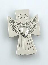 Vintage Carolyn Pollack .925 Sterling Silver Southwestern Angel Pendant & Brooch