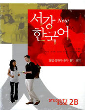 Sogang Korean 2B Student Book With CD New Korean language Learning Textbook