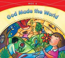 God Made the World: Age 4 (God Made Everything 2008) Pre-K Catholic Homeschool