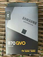 "Samsung 870 QVO 2TB 2.5"" SATA III Internal SSD (MZ-77Q2T0B/AM) Factory sealed!!"