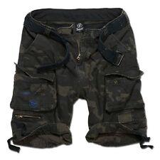 Brandit Shorts Savage Cargoshorts Hose Sommerhose 100% Baumwolle darkcamo