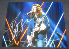 CADE FOEHNER SIGNED 8X10 PHOTO AMERICAN IDOL ROCKER HAIR #2 W/COA+PROOF RARE WOW