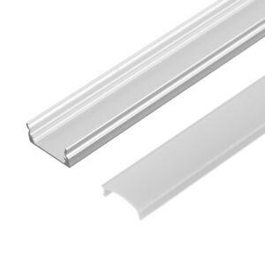 5er 1m LED Aluprofil Aluminium Profile Alu Schiene Leiste für LED-Stripe Leucht