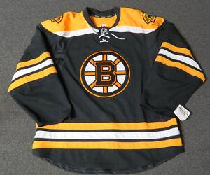 New Boston Bruins Authentic Team Issued Reebok Edge 2.0 Blank Hockey Jersey NHL