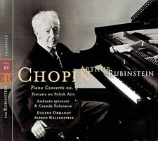 Artur Rubinstein Collection 69: Chopin, opp. 21, 13, 22 (1958/68, RCA Red.. [CD]