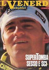1988 02 12 - IL VENERDI DI REPUBBLICA - 12-02-1988 - N.35 - ALBERTO TOMBA