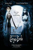 Corpse Bride Original Filmposter Advance Stil Zweiseitig - Depp